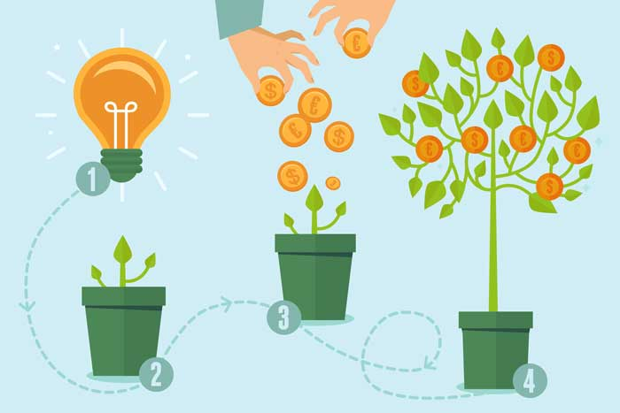 equity crowdfunding concept