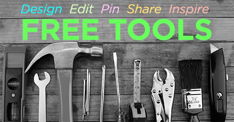 free design tools for social media and crowdfunding