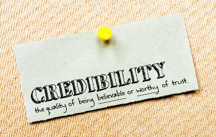 credibility is important in creating a crowdfunding campaign