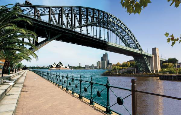 The Sydney Harbour Bridge meets The Tyne Bridge